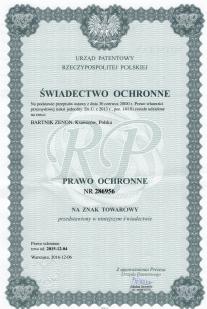 Certyfikat UPRP
